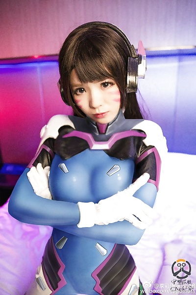 Chinese D.VA Cosplay