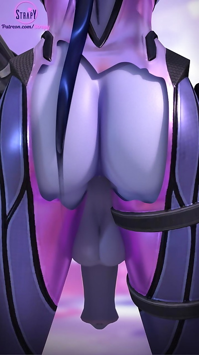 Strapy Futa Widowmaker..